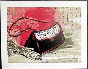 Fine Art Print Purse Gloves by Kimberly Han