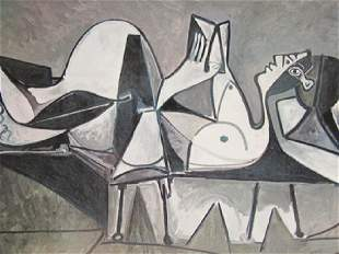 Signed Lithograph Pablo Picasso H72