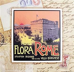 Fine Art Print Flora Rome by Tina Higgins