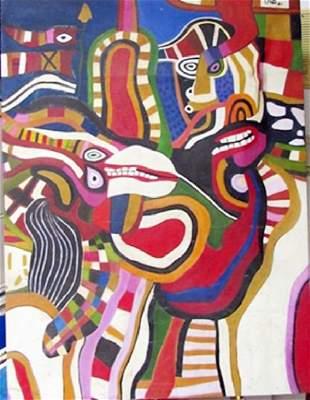 Oil on Canvas Jose Tola