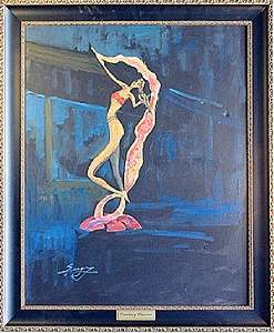 "Oil on Canvas ""Fantasy Dancer"" by Sergey"