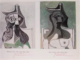 Signed Lithograph Pablo Picasso H65
