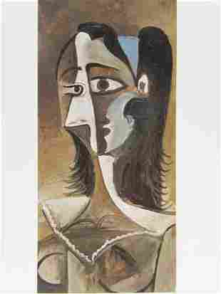 Signed Lithograph Pablo Picasso H13