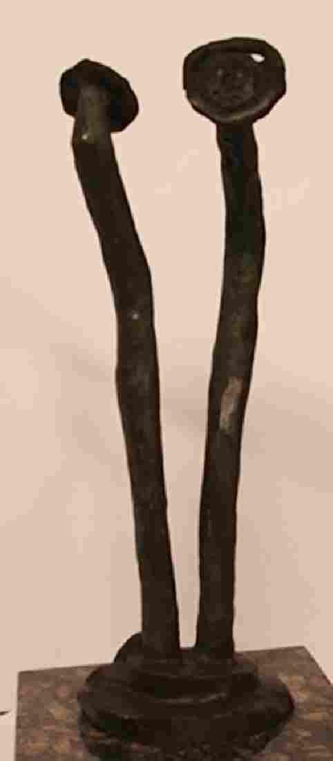Patina Bronze Sculpture - Max Ernst