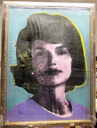 Andy Warhol Jackie Kennedy
