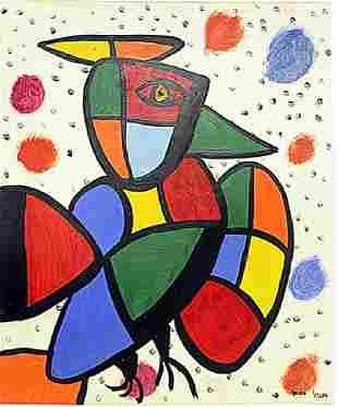 Joan Miro The Bird