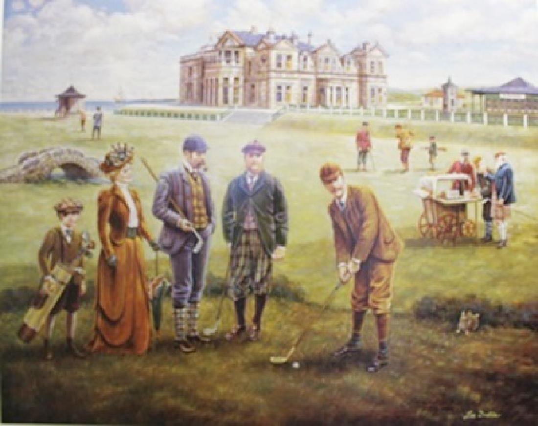 """""""St. Andrews Golf Course"""" By Lee Dubin"""