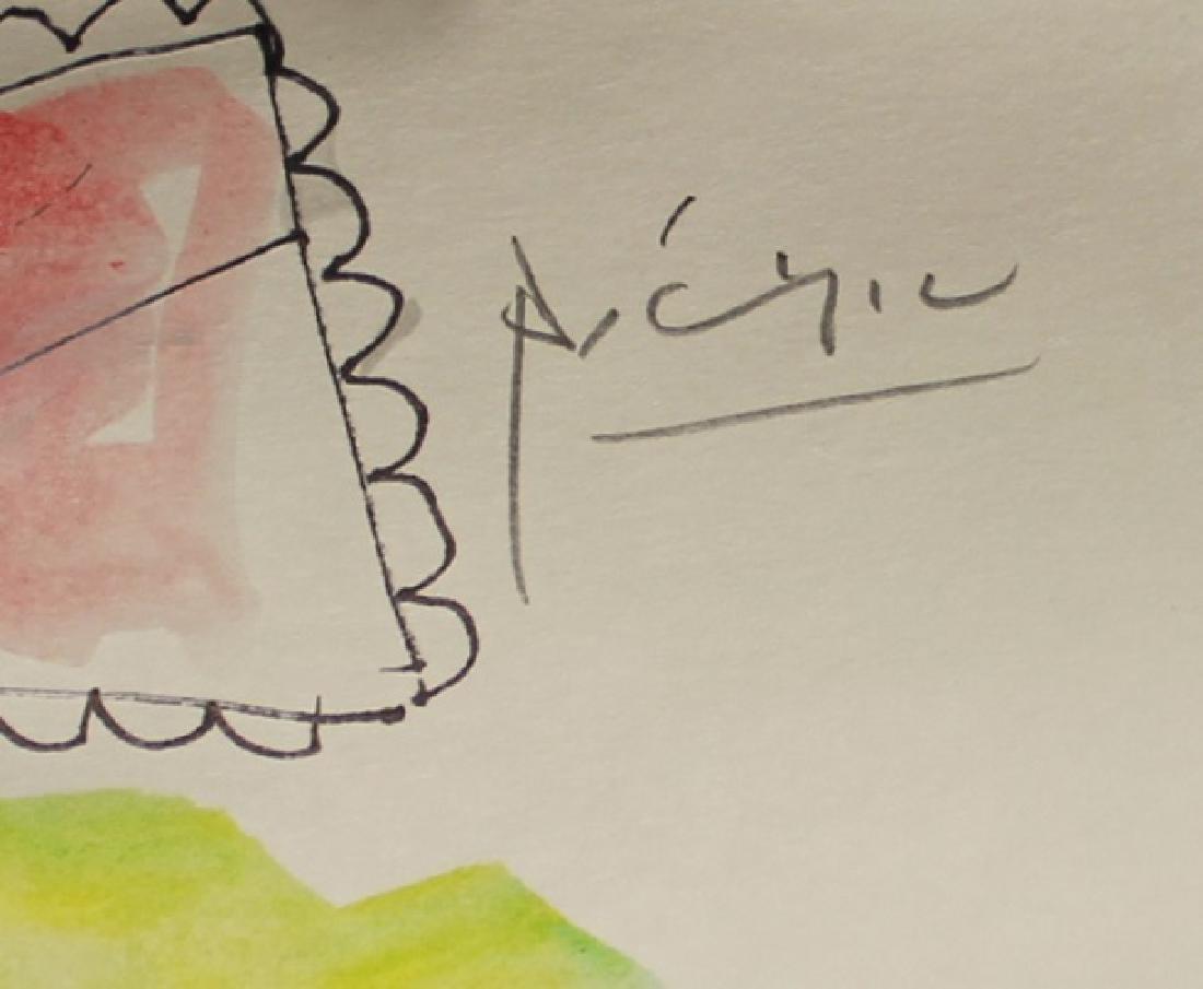 Pablo Picasso - Watercolor 189H - 2