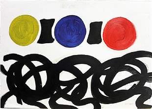 Adolph Gottlier Untitled