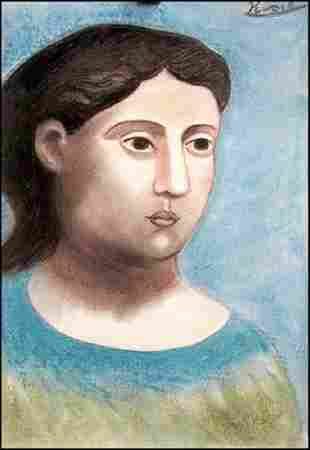 Pablo Picasso Pastel On Paper 0078