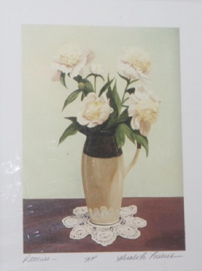 Peonies - Gerald Lubeck - Lithograph 45W