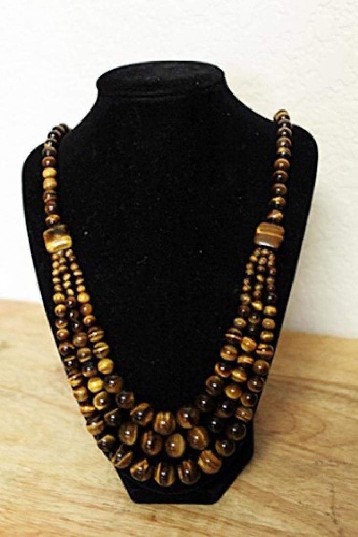 Tiger's Eye Necklace - 2
