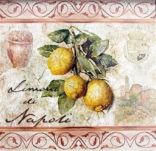 Fine Art Print Limoni Di Napoli by Thomas Cathey