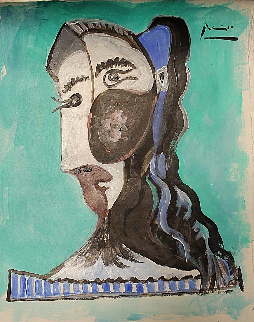 Pablo Picasso - Watercolor 190H