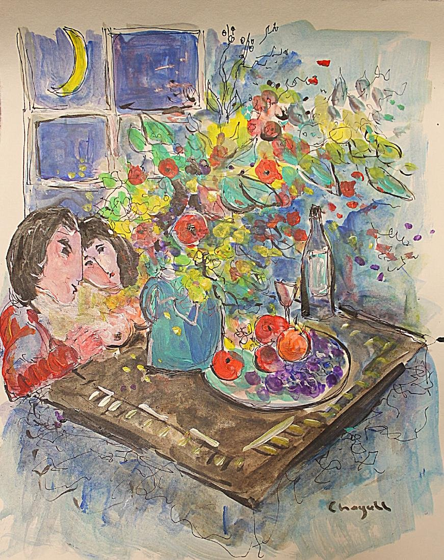 Marc Chagall - Watercolor 192H