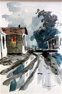 """NEIGHBORHOOD PATH"" BY MICHAEL SCHOFIELD"