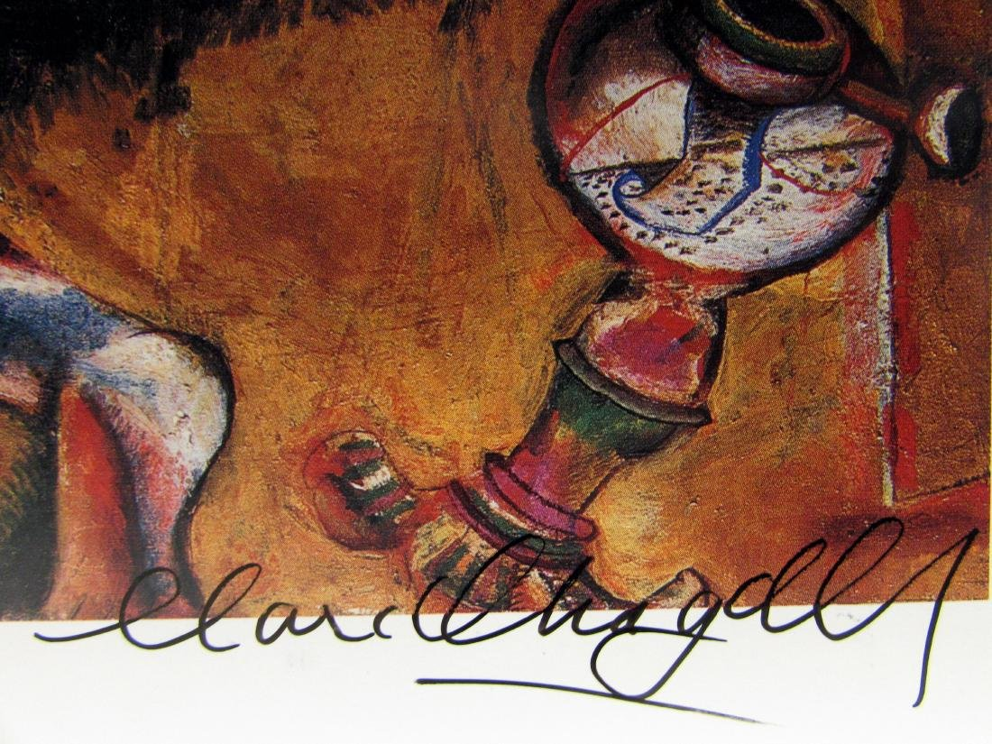 Signed Lithograph - Marc Chagall H109 - 2
