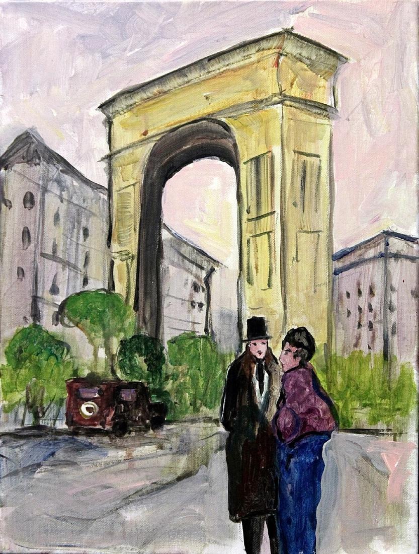 Paris Scene 12 - Michael Schofield - Original Painting