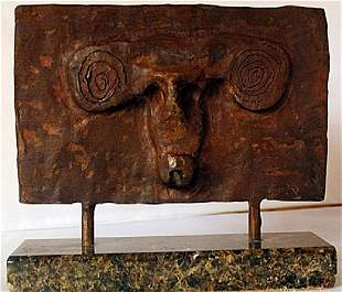 Patina Bronze Sculpture Max Ernst