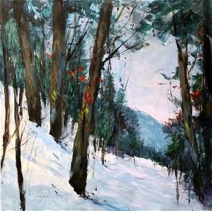 Michael Schofield Original Painting On Board 24