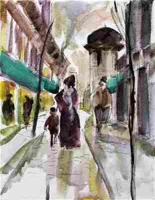 Paris Scene 18 Michael Schofield Original Painting