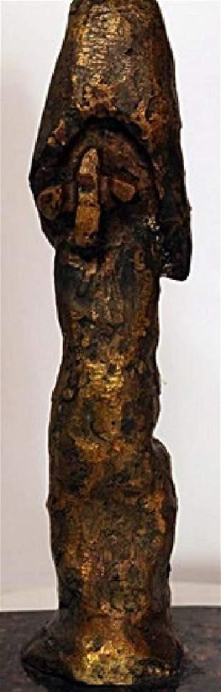 Bronze Sculpture on a Marble Base Joan Miro