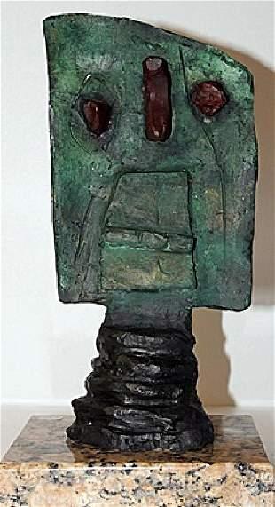 Patina Bronze Sculpture Joan Miro