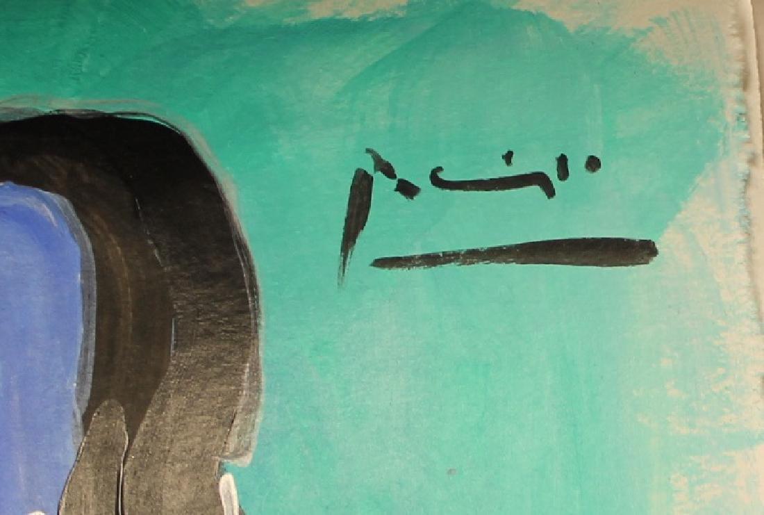 Pablo Picasso - Watercolor 190H - 2