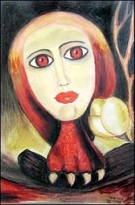 Victor Brauner - Pastel On Paper