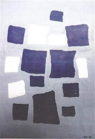 Composition Jean Hans Arp Oil On Paper