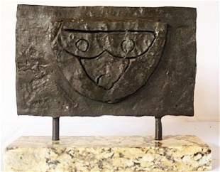 Bronze sculpture Marble Base Max Ernst