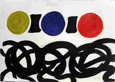 Adolph Gottlier - Untitled