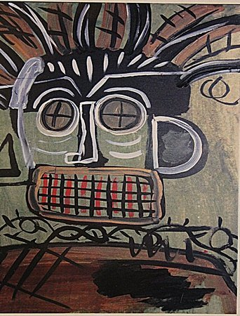 Jean Michel-Basquiat- Untitled