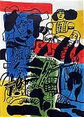 Fernand Leger - The Love 1930 Oil