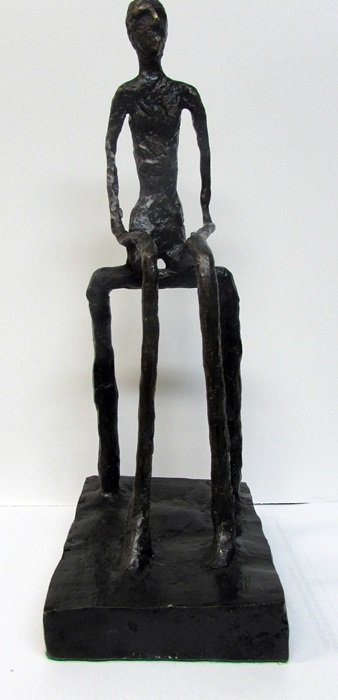 Signed Limited Edition Giacometti Bronze