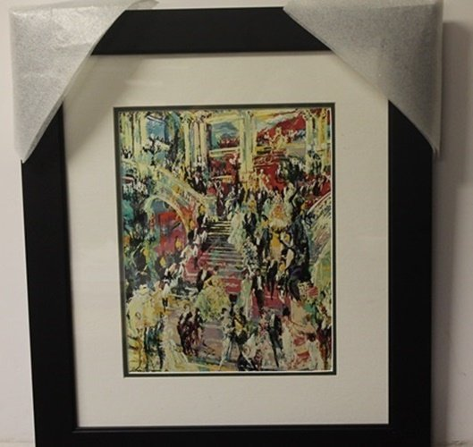 """Lithograph """"Grand Empire Parts"""" after LeRoy Neiman"""