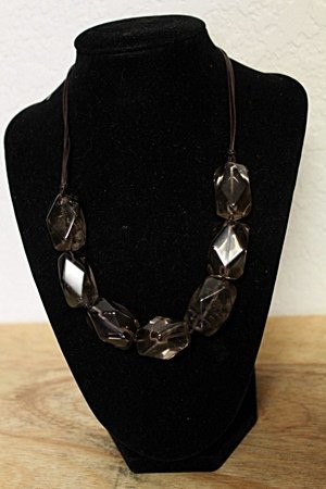 Smokey Quartz Necklace