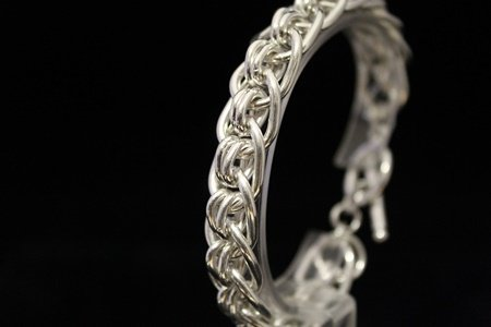 Exquisite Chic Silver Bracelet (18M) - 3