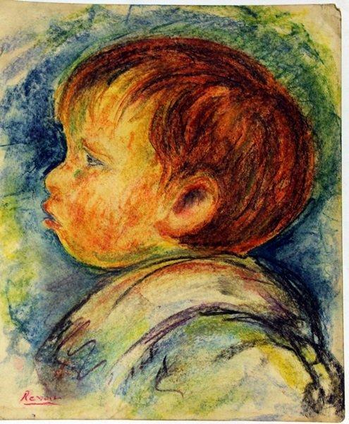 Pierre Auguste Renoir - The Boy