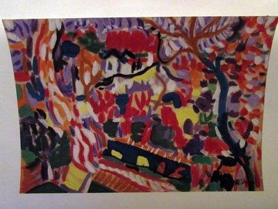 Andre Derain - The Jungle Watercolor