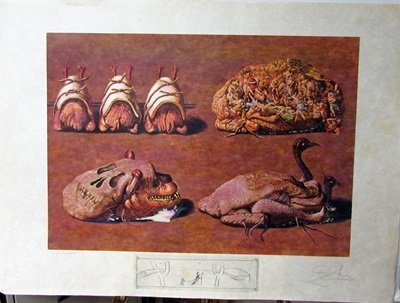 Hand Signed Limited Edition Salvador Dali