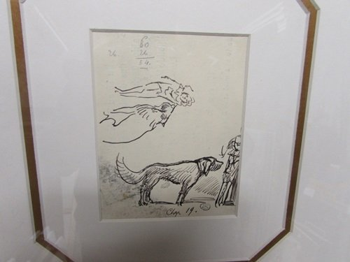 Hand Signed Authentic Drawing Ludovic Rodo Pissarro - - 2