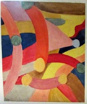 Signed Mixed Media Paul Klee