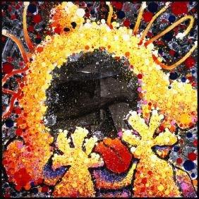 Black Velvet Scream 2001' by Tom Everhart