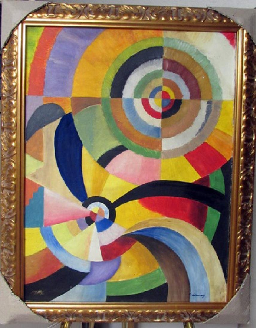 Robert Delaunay Oil on Canvas