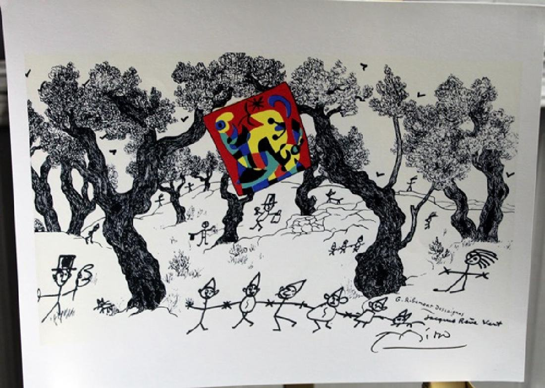 Signed Miro Lithograph