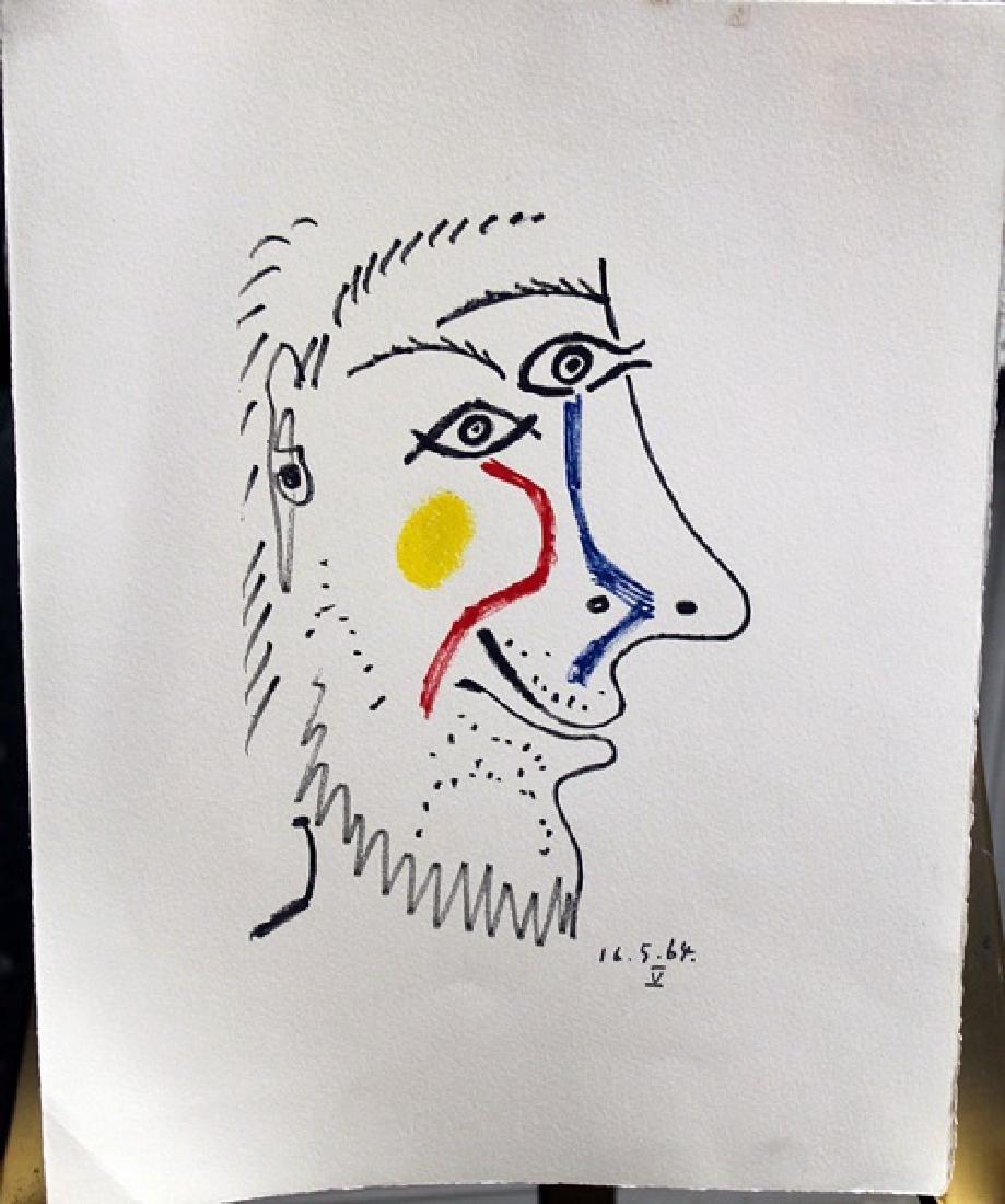 Pablo Picasso Lithograph