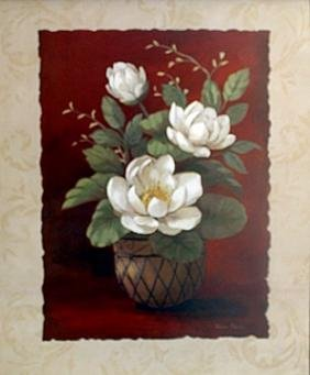"Fine Art Print ""More Magnolias II"" by Vivian Flasch"