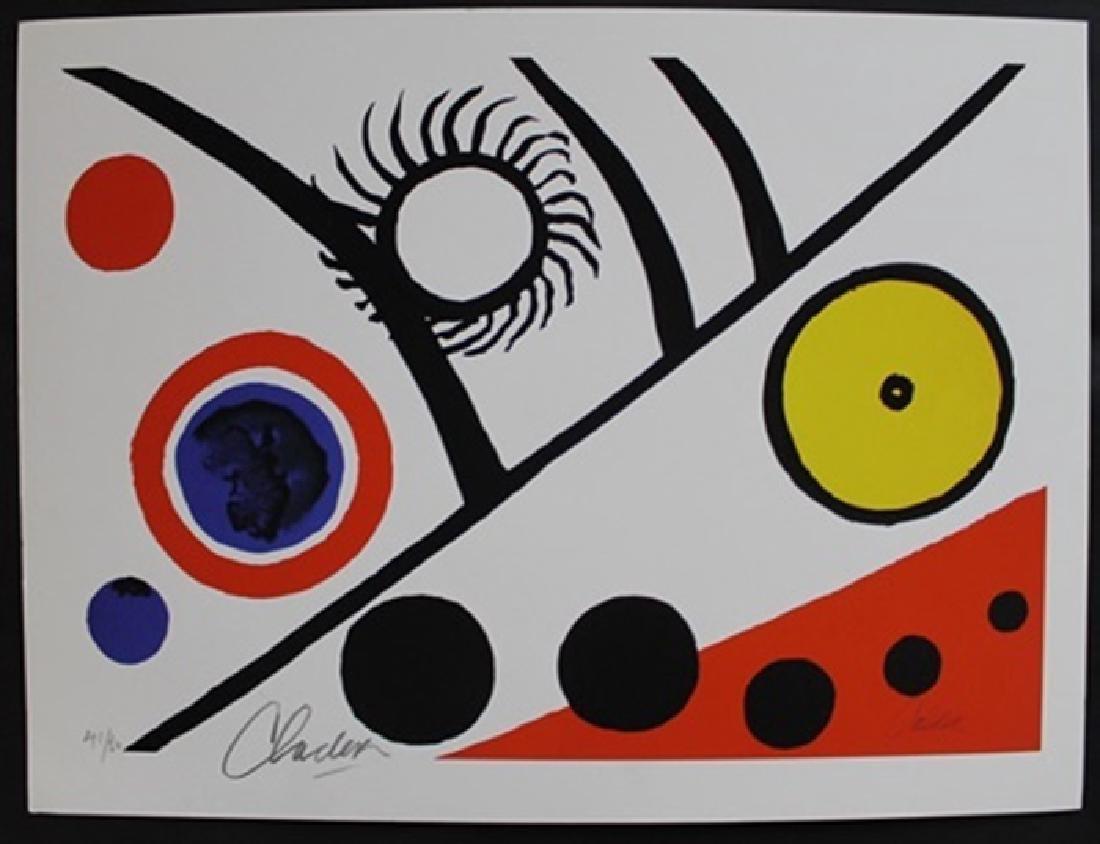 Lithograph By Alexander Calder