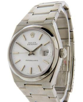 Mens Datejust Oysterquartz Rolex Watch